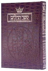 Artscroll Tehillim (Psalms) - Full Size Leather