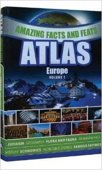 Amazing Facts and Feats Atlas: Europe
