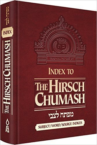 Index to the Hirsch Chumash