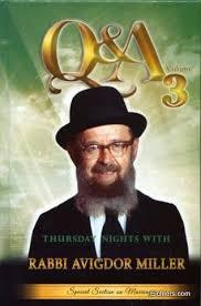 Q&A Thursday Nights with R' Avigdor Miller 3