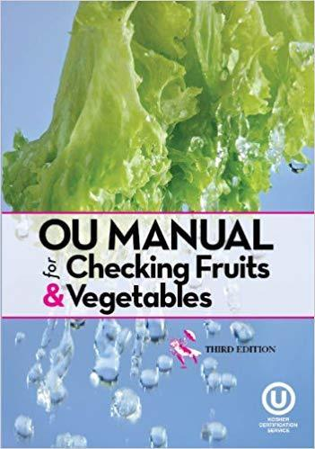 OU Manual for Checking Fruits and Vegetables