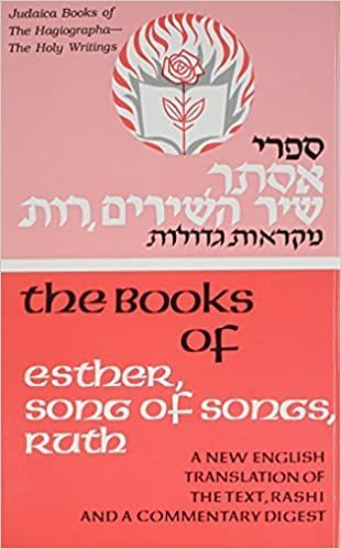 Judaica Books of Holy Writings (6) Esther, Song of Songs, Ruth